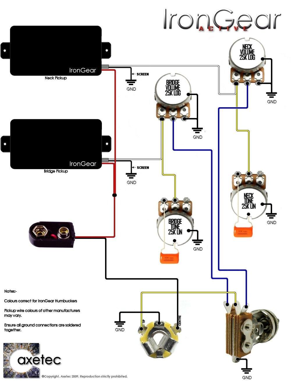 Old Emg Wiring Diagrams - Merzie.net