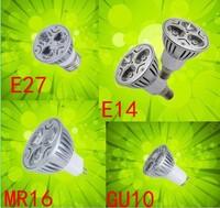 400-кратном высокой мощности кри GU10 3 х 3 вт 9 вт 85 - 265 в диммирования света лампы из светодиодов светильник из светодиодов теплый / / холодный белый