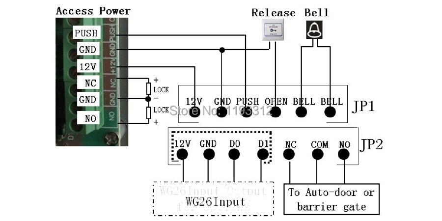 UT8Lp3UXTNXXXagOFbXs 125khz rfid proximity card access control system rfid em keypad rfid access control wiring diagram at soozxer.org