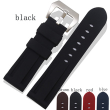 Sports Style Rubber Strap, 24MMStrap For Panerai 441|111Watchbands, Dustproof And Waterproof Watchbands