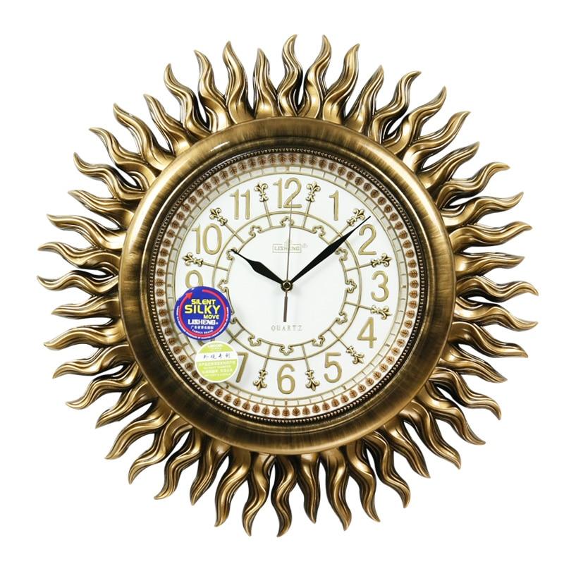 Luxury Antique Fashion Mute font b Wall b font font b Clock b font Decoration Vintage