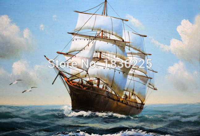 hecho a mano decorativo pictures for living barco barcos de pesca de vela seascape leo home
