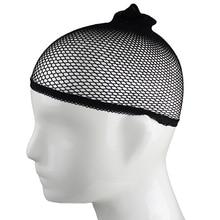 1Pc Men Women Stocking Wig Liner Cap Snood Nylon Stretch Mesh Hollow Hat