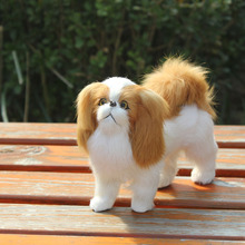 lifelike imtation valentine day gifts puppy dog toys