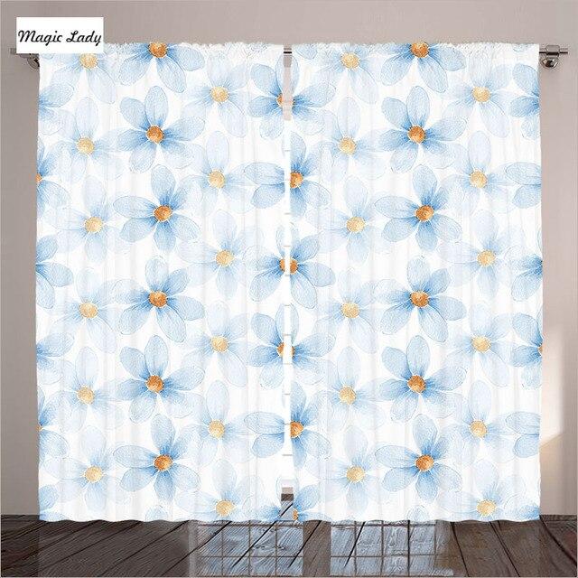 Schlafzimmer Und Wohnzimmer Vorhange Vorhange Pastell Blumenmuster