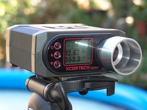 Livraison gratuite X3200 haute puissance Airsoft Xcortech tir chronographe chasse BB compteur de vitesse Paintball compteur Test