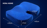 Thicken Health Office Chair Memory Foam Comfort Coccyx Orthopedic Seat Cushion Chair Pads For Garden Desk
