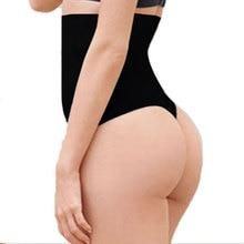 steel boned post partum Women high waist thong shaper waist trainer cincher tummy Control panty pant