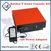 Jamma Game Console Kits Coin Operated Raiden V Vertical Screen Target Flight Shooting Game Motherboard for Arcade Game Machine