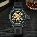 Mce marca de topo mens relógios dos homens automáticos do relógio de luxo em aço inoxidável relógios de pulso masculino relógio montre com caixa 335