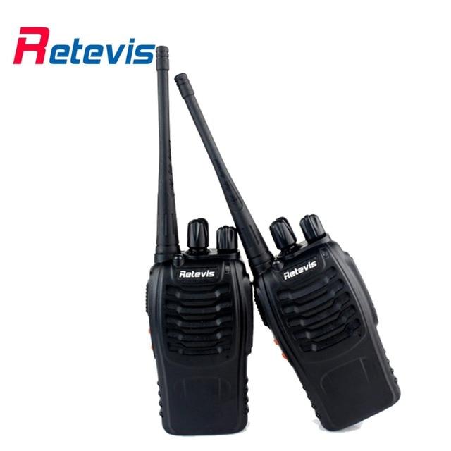 2pcs Walkie Talkie Retevis H777 UHF 400-470MHz Transceiver 16CH Ham Radio Two Way cb Portable Radio Amador Communicator A9105A