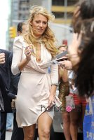 блейк кристина живой сексуальное в шеи с длинными рукавами оборками бисером мини шифоновое платье знаменитости / платье для выпускного бала