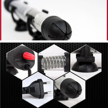 25W Submersible Heater Heating Rod for Aquarium Glass Fish Tank Temperature Adjustment 220-240V Aquariums Accessories