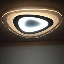 Пульт дистанционного управления гостиная спальня современные светодиодные потолочные светильники luminarias пункт сала deckenleuchten затемнения светодиодный потолочный светильник