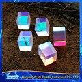 Juguetes de la ciencia 2 X 2 X 1.75 cm lente defectuosa divisor prisma cruz Dichroic X-Cube Prism RGB combinador