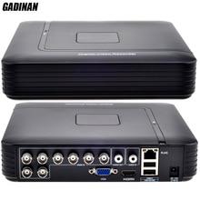 GADINAN AHD 8CH 1080N DVR מערכת ONVIF מיני NVR 8CH 5 ב 1 TVI CVI AHD IP HDMI H.264 P2P ענן רשת CCTV 8CH AHD DVR
