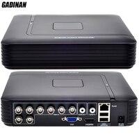 GADINAN AHD 8CH 1080N DVR System ONVIF Mini NVR 8CH 5 In 1 TVI CVI