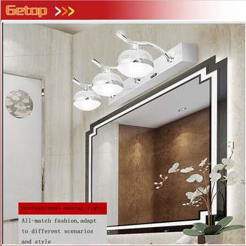 ZX Modern Acryl LED Mirror Wall Lamp Waterproof Damp Proof Dressing Room Makeup Magic Ball Lights Fixture for Bathroom Toilet adjustable mandoline slicer professional grater