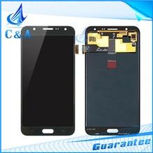 Para Samsung para la Galaxia J7 GRAN MURALLA J700M J700H pantalla LCD pantalla táctil con digitalizador asamblea J700 piezas 1 unidades envío gratis