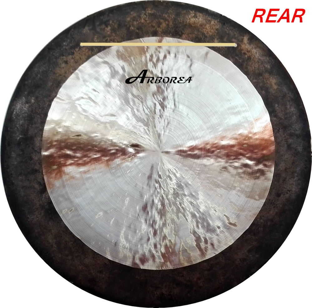 Percussion musical instruments traditional Chinese 32'' wind gong/ Customized Gong arborea chinese 20 inch wind gong hot sale