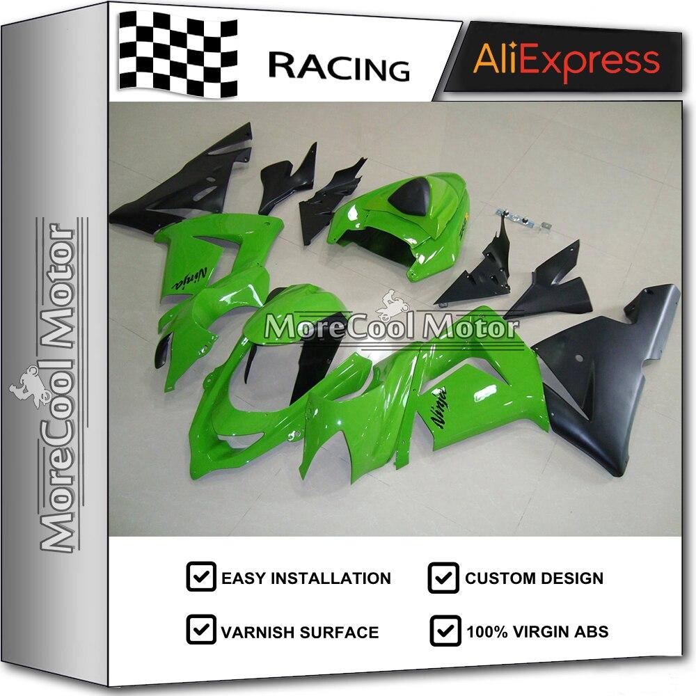 ABS motorcycle Fairings For Kawasaki ZX10R 04-05 2004 2005  zx10r 2004 04 ZX10R Fairing Kit Parts