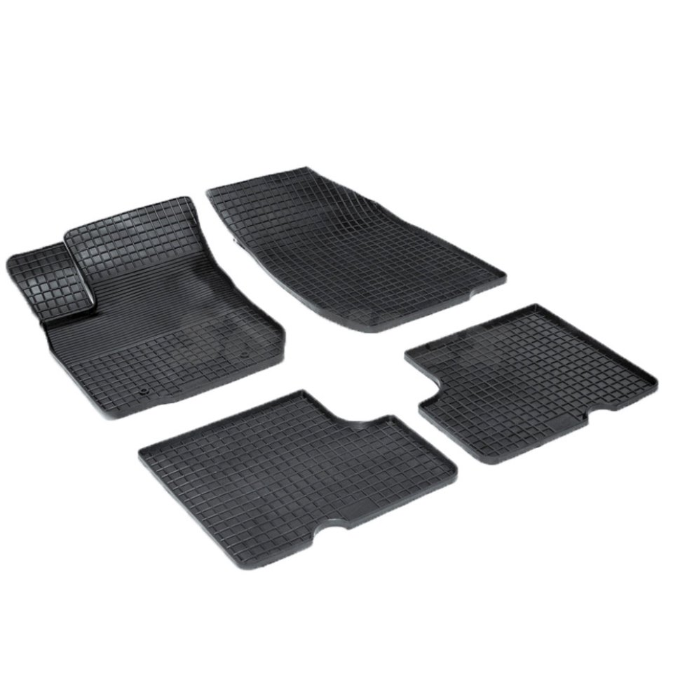 Rubber grid floor mats for Renault Logan 2004 2005 2007 2008 2009 2010 2011 2012 2013 Seintex 00413 lopor motorcycle parts engine stator cover crankcase with gasket for honda cbr600rr 2007 2011 2008 2009 2010 cbr600 rr cbr 600rr