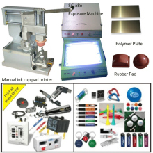 manual label printing machine for t shirts/ pens/lights/cups/mugs/bottles or other promotional items