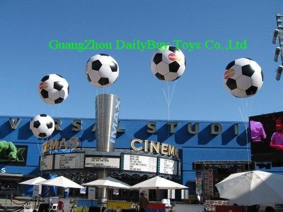AC096 BENAO 2 м-ПВХ дешевые цены события Дисплей надувные гелием Футбол шар/продвижение надувной футбольный мяч
