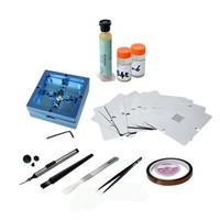 BGA Reballing Station 11 Pcs PS3 XBOX360 WII 80mm Stencils BGA Soldering Tools Kit