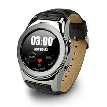 2016 neue Arrivel Runde Smart Uhr ios Android Smartwatch Unterstützung SIM CD Karte Bluetooth Sport Armbanduhr Für Apple Huawei Telefon