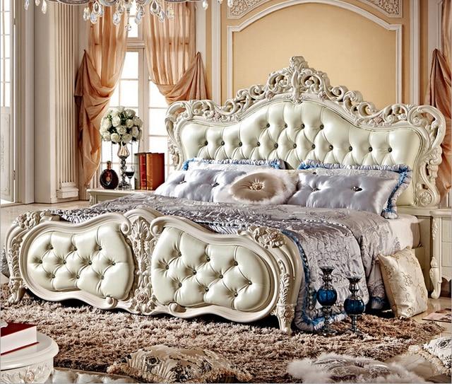 Perla francés blanco color de cama con caja de almacenamiento 8870 ...