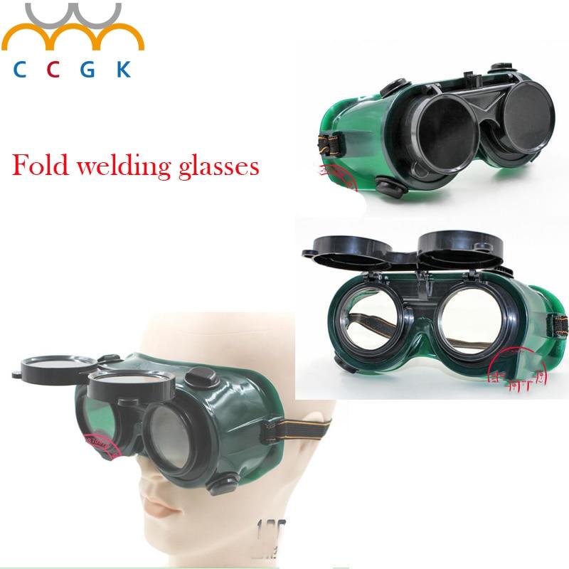 Flip up Lens Eye welding Glasses,protective spectacles,breathable, durable,plasma cutting,sanding,anti-splashing Dual-use Glasse