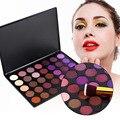 35 cor Quente Paleta Da Sombra do Pigmento de Maquiagem Sombra de Olho CONJUNTO de Matte e Shimmer 100% Brand New