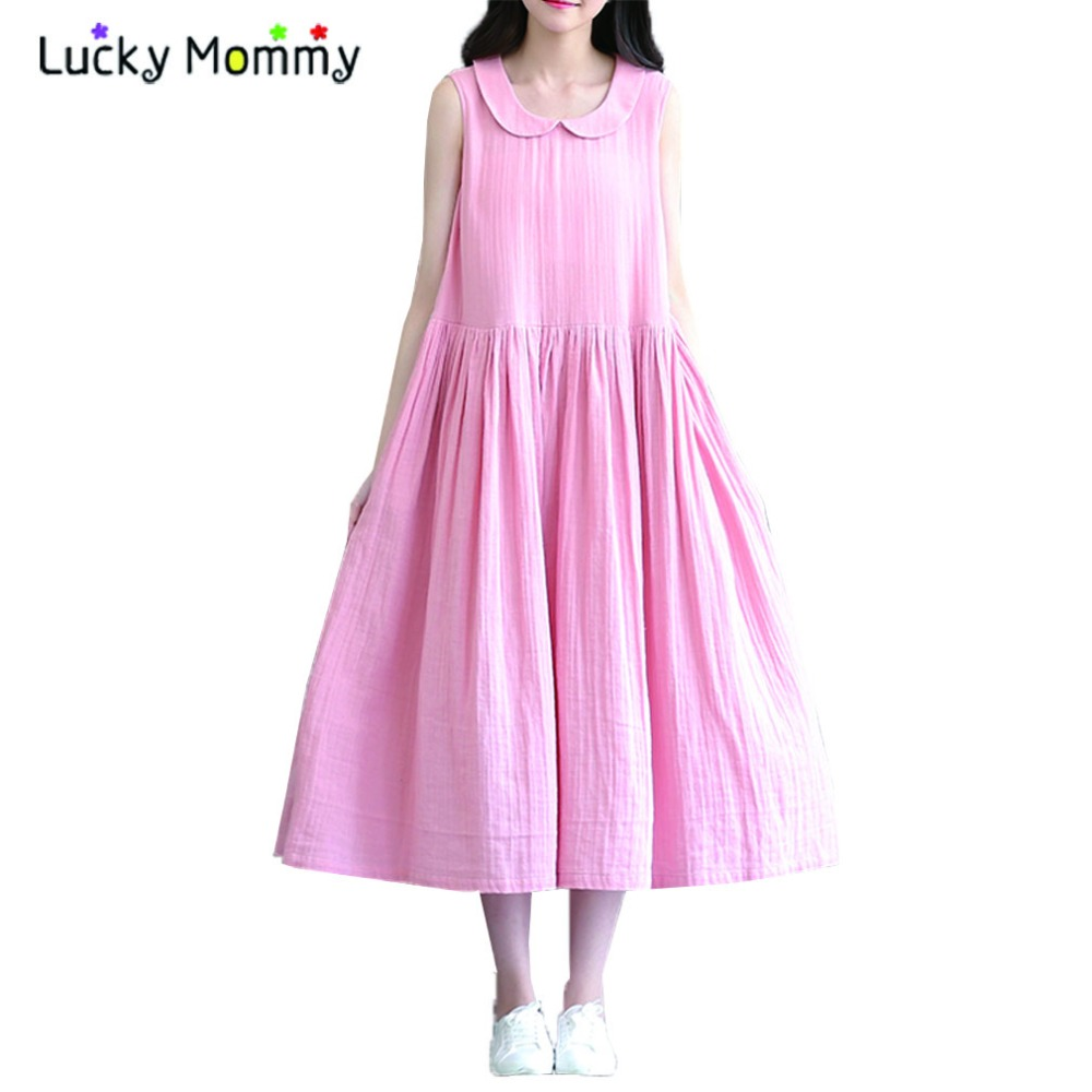 Compare prices on pink maternity dress online shoppingbuy low pink maternity dresses retro pregnant dress summer sleeveless pregnancy clothes for pregnant women linen cotton maternity ombrellifo Gallery