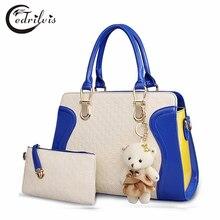 Bear Panelled Composite Bag W381 Neverfull Women Handbag High-grade Lady Shoulder Bag Bear Panelled Composite Messenger Bag