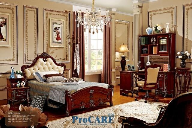 Hout Slaapkamer Meubels : Luxe solid rose hout kinderen kids slaapkamer meubels sets met 1.2 m