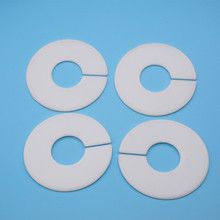 Фотография Clothing Round Rack Size Dividers White Blank Garment Marker Tag Best For Fashion Shops