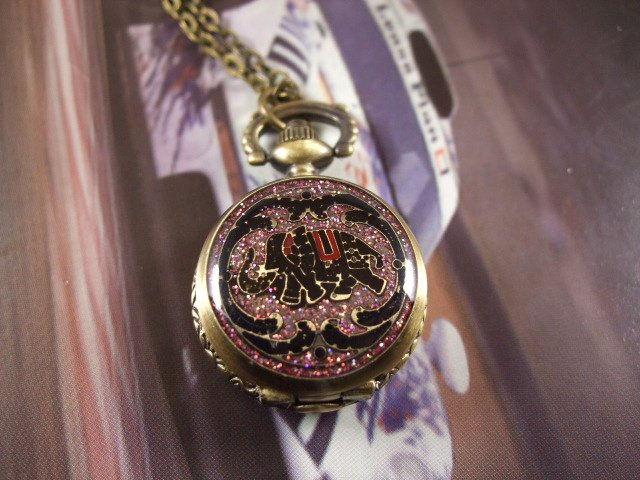 Гарри кварцевые карманные часы Летающий шарик,, черный серебристый крылья для мужские женские ожерелья Y027