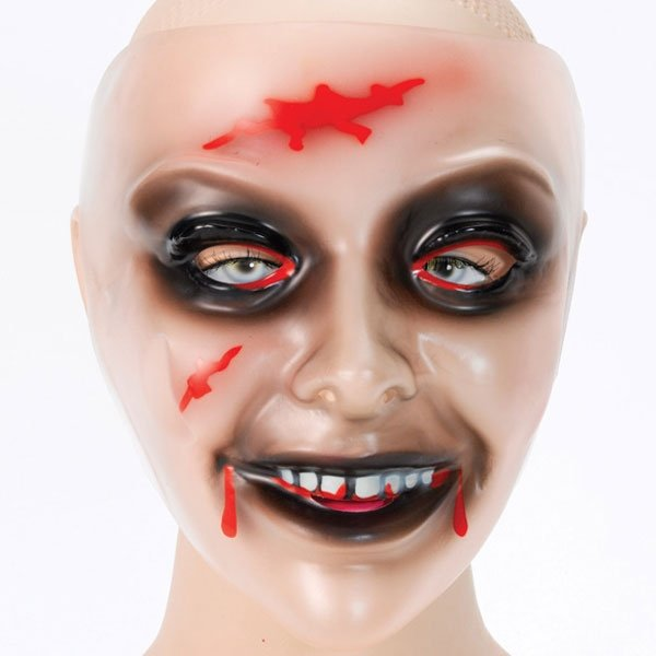 Unique Zombie Pvc Mask Christmas Scary Women Female Corpse Halloween  Costume Mask Free Shipping aa9d47c68