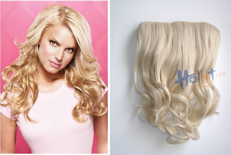 Free shipping 16 jessica simpson stylesoft waves clip in hair type synthetic hair extensions collection jessica simpson style approx length overall length 16 base 11x65 approx weight 92gpcs pmusecretfo Gallery