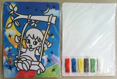 Детские сувениры для продвижения для творчества из цветного песка набор для художественной живописи комплект для детей подарок игрушки