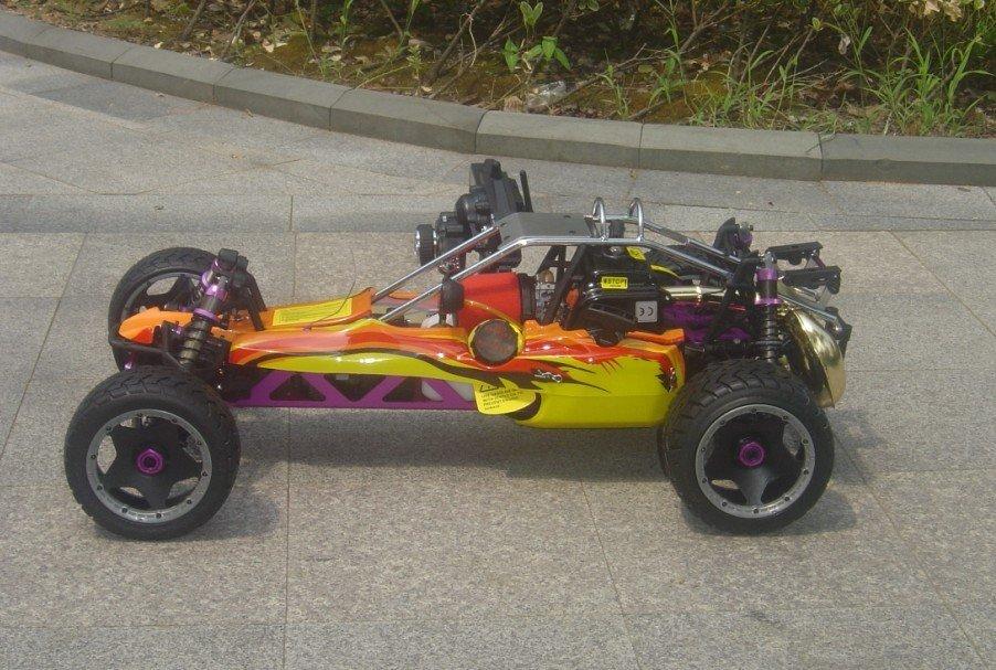 26CC Baja 5B SS+ DDM копия трубы+ на дорожное колесо+ 2,4G 3 канала управления+ стальной бык бар