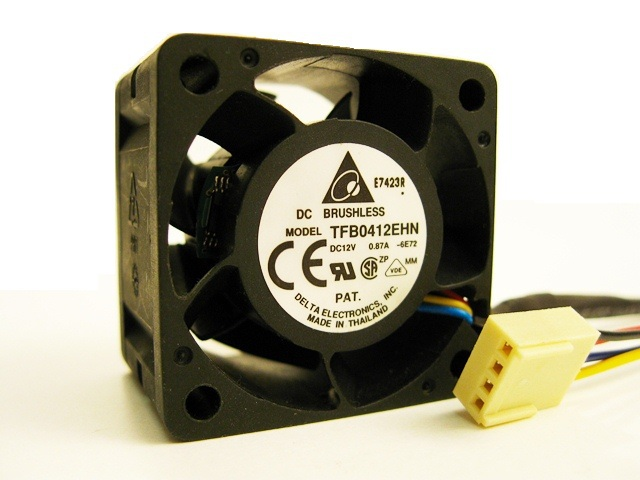 Delta TFB0412EHN -PWM 4CM 40MM PWM 15,000RPM 26cfm DC 12V 0.87A server inverter cooling fans blower Case