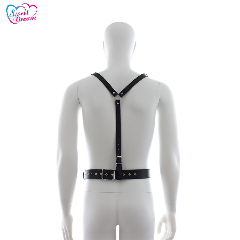 Sweet Dream Sex Products Body Harness Adult Rivet Design Sexy Bondage Cock Rings Body Flirt BDSM Bondage Sex Toys For Men DW-278