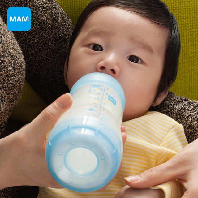 Mam anti-cólica garrafa de leite do bebê recém-nascido criança alimentando 160 ml/5 oz + 260 ml/9 oz garrafa pp material de embalagem criança enfermeira frete grátis