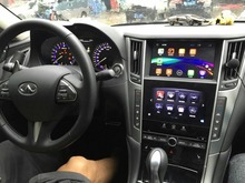 car original Screen to upgrade 2014~ Android 4.2 Car GPS Navigation video interface for infiniti Q50 with WIFI Rear View