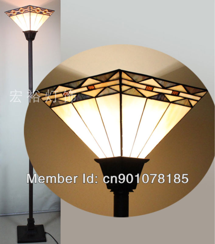 Mission style tiffany torchiere lamp dinning room floor lamp mission style tiffany torchiere lamp dinning room floor lamp uplighter stained glass lights classical design simple patterns in floor lamps from lights aloadofball Choice Image