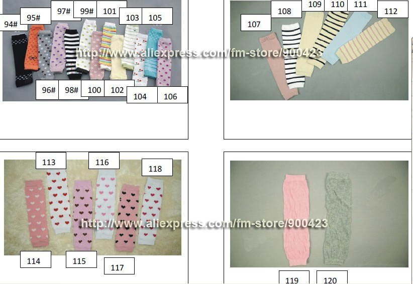 271 шт дизайнерские детские гетры 20 пар/лот
