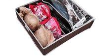 бесплатная доставка 3 шт. комплект Squad ул бамбука ящик для хранения bologna для бюстгальтер нижнее белье галстук носки