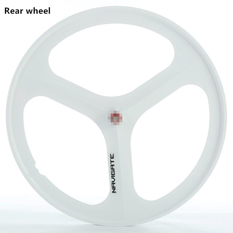 700 vélo de route de haute qualité à vitesse unique roues de vélo à engrenages fixes roues en alliage de magnésium 1 pièces - 4